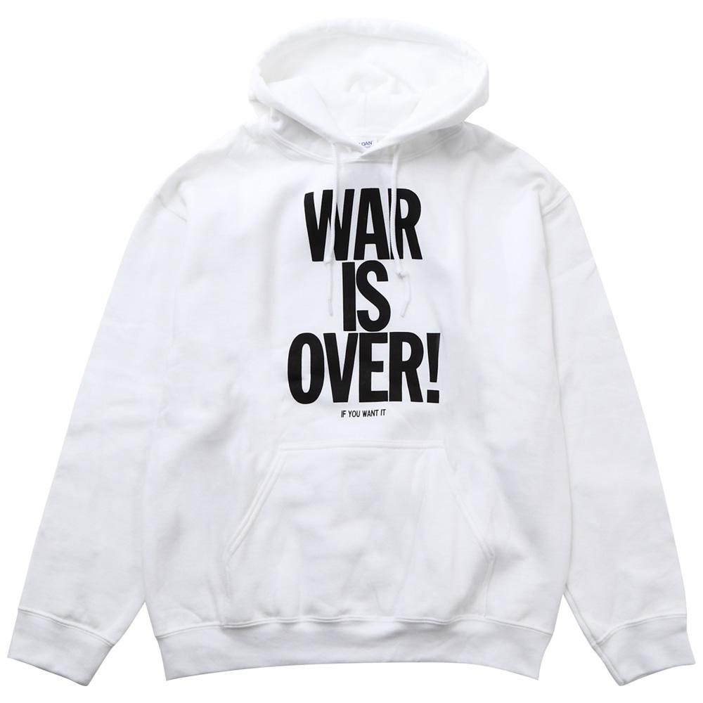 JOHN LENNON ジョンレノン (追悼40周年 ) - WAR IS OVER / スウェット・パーカー / メンズ