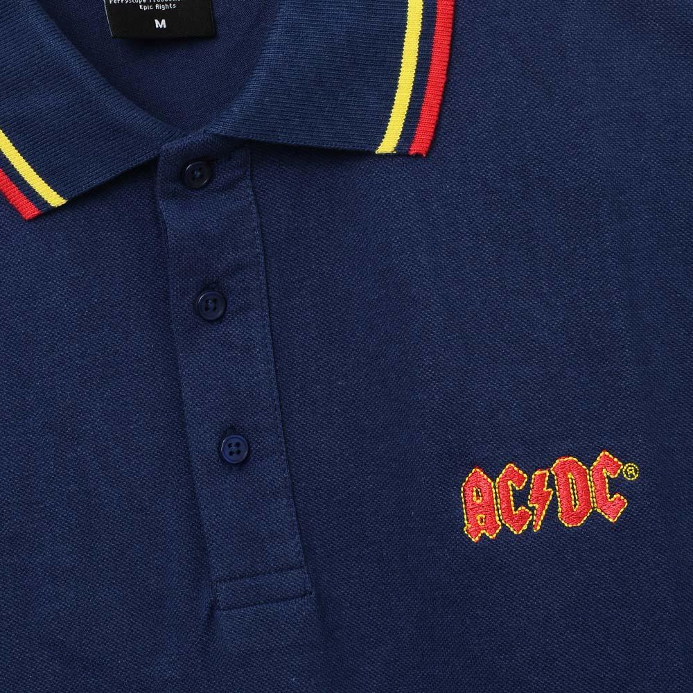 AC/DC エーシーディーシー (初来日40周年 ) - 【限定】Classic Logo / シャツ(襟付き) / メンズ 【公式 / オフィシャル】