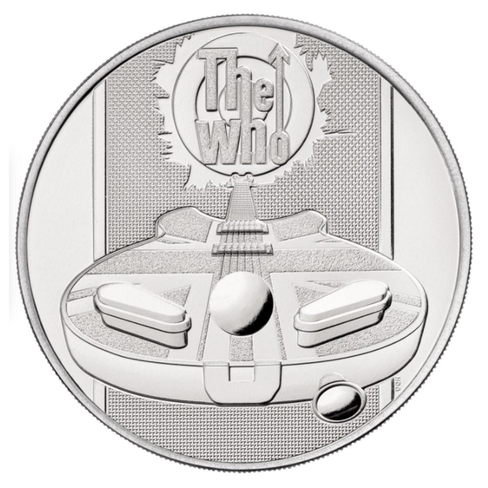 WHO ザ・フー - 2021 UK £5 Brilliant Uncirculated Coin / コイン 【公式 / オフィシャル】
