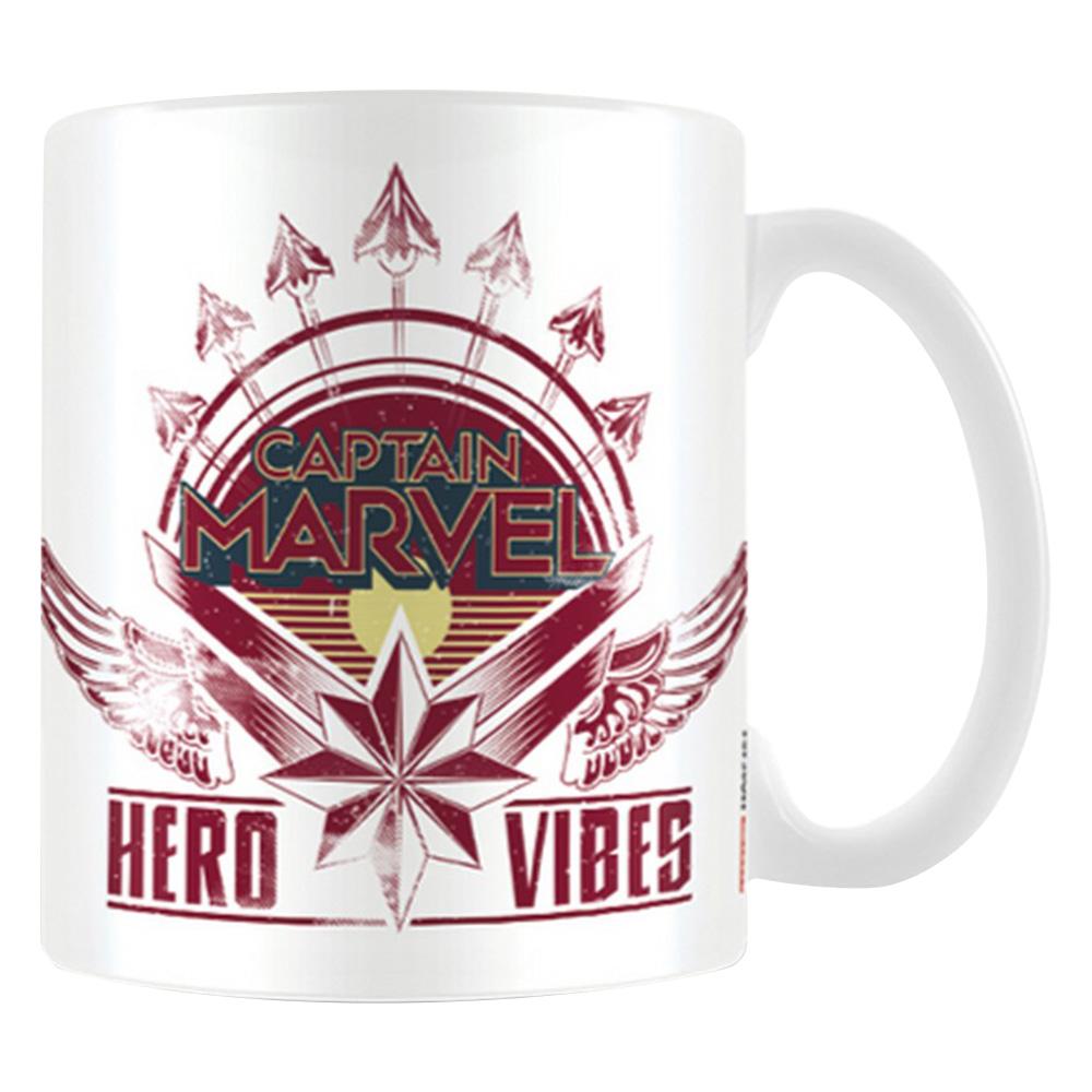 CAPTAIN MARVEL キャプテンマーベル - HERO VIBES / マグカップ 【公式 / オフィシャル】