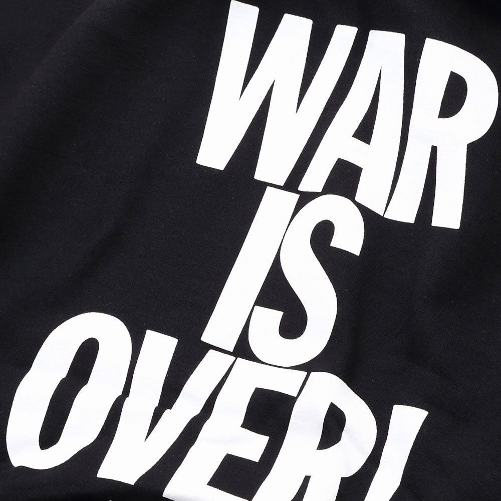 JOHN LENNON ジョンレノン (Live in New York City 発売35周年 ) - WAR IS OVER / white print / パーカー・スウェット / メンズ