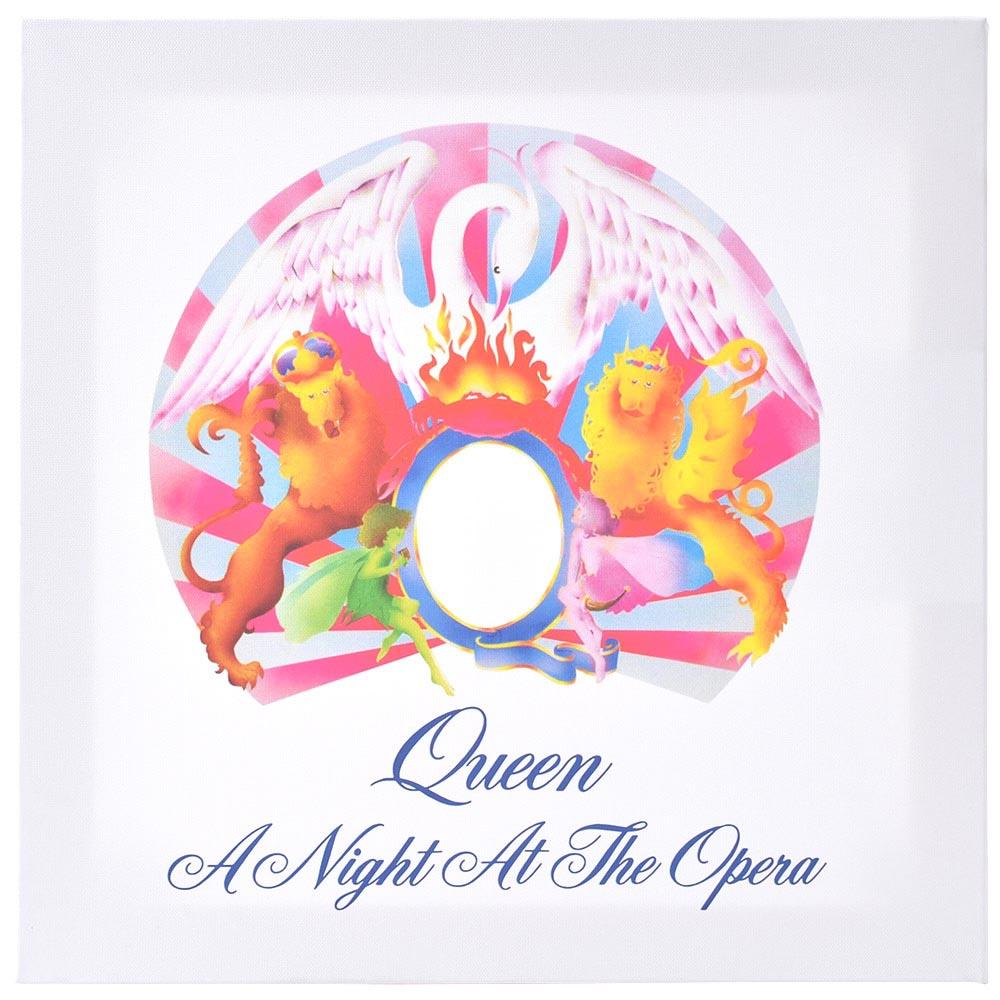 QUEEN クイーン (フレディ追悼30周年 ) - A Night at the Opera/ キャンバス・プリント木枠(40×40×3.8cm) / インテリア額 【公式 / オフィシャル】