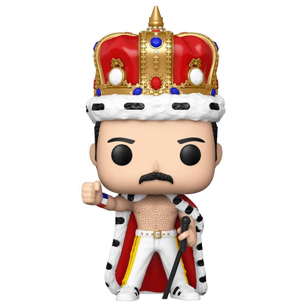 【予約商品】 QUEEN クイーン (結成50周年 ) - POP Rocks: Freddie Mercury King / フィギュア・人形 【公式 / オフィシャル】
