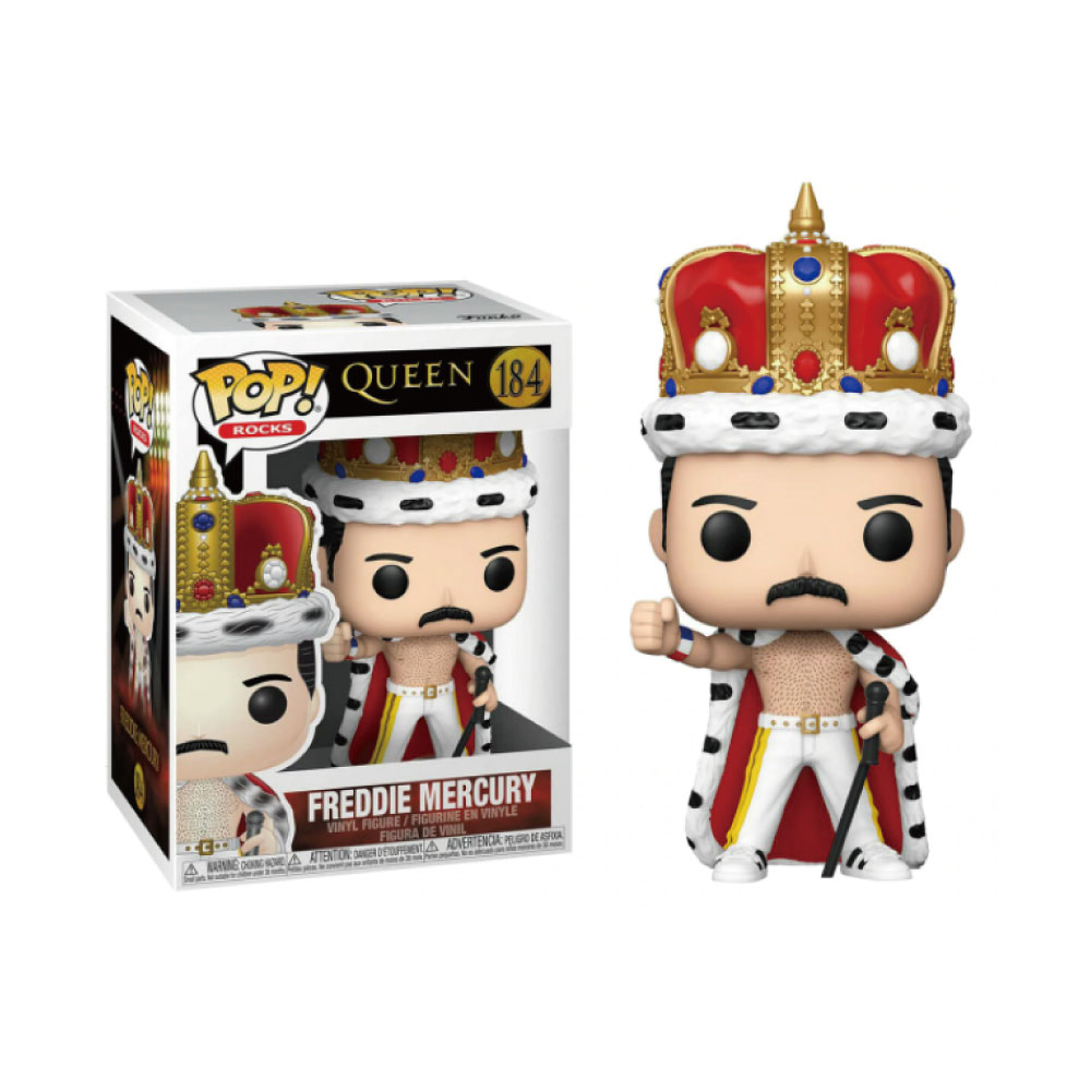 【予約商品】 QUEEN クイーン (フレディ追悼30周年 ) - POP Rocks: Freddie Mercury King / フィギュア・人形 【公式 / オフィシャル】