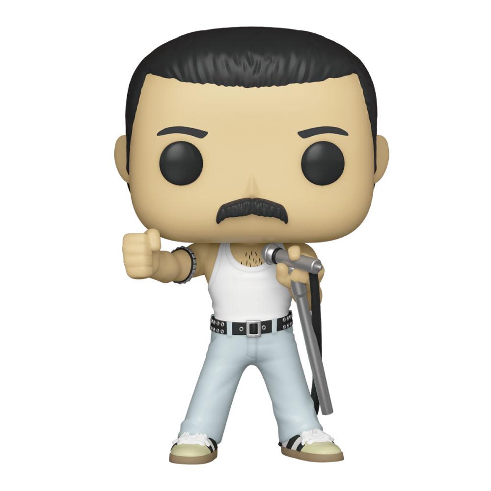 【予約商品】 QUEEN クイーン (フレディ追悼30周年 ) - POP Rocks: Freddie Mercury Radio Gaga 1985 / フィギュア・人形 【公式 / オフィシャル】