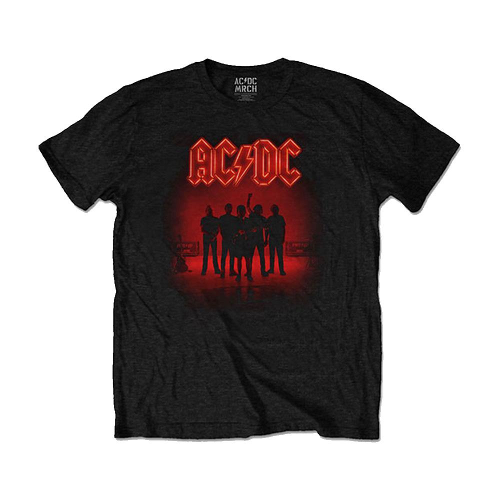 AC/DC エーシーディーシー (初来日40周年 ) - PWR-UP / バックプリントあり / Tシャツ / メンズ 【公式 / オフィシャル】