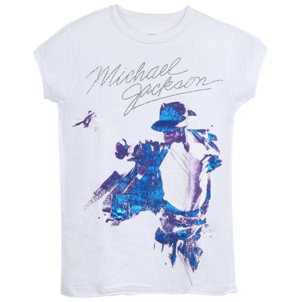 MICHAEL JACKSON マイケルジャクソン - M.J.& DIAMANTE / Amplified( ブランド ) / Tシャツ / レディース 【公式 / オフィシャル】