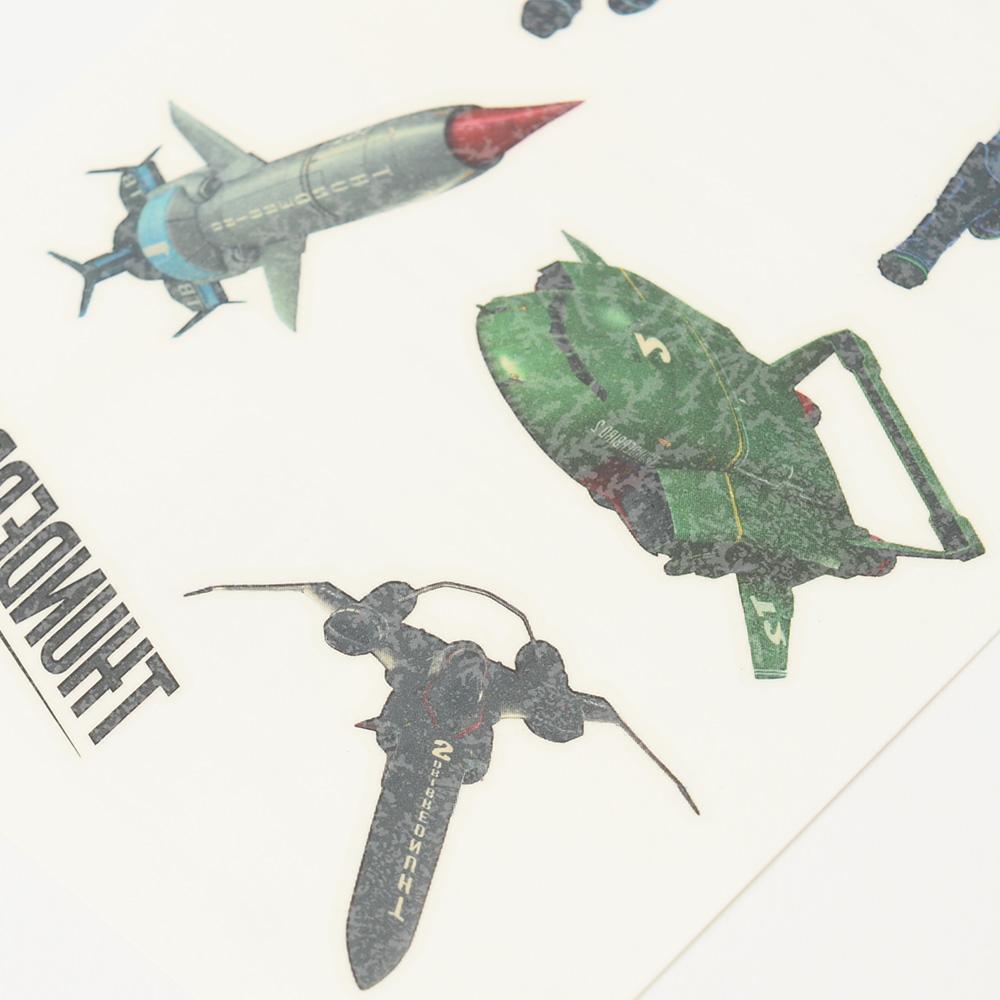 THUNDERBIRDS ARE GO サンダーバード - Mix Tattoo Pack / タトゥー・シール 【公式 / オフィシャル】