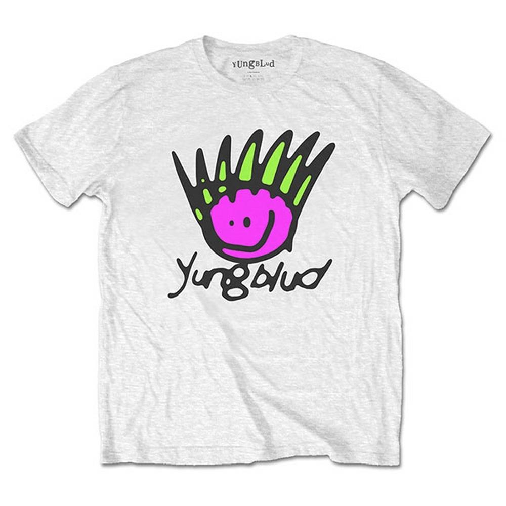YUNGBLUD ヤングブラッド - Face / バックプリントあり / Tシャツ / メンズ 【公式 / オフィシャル】