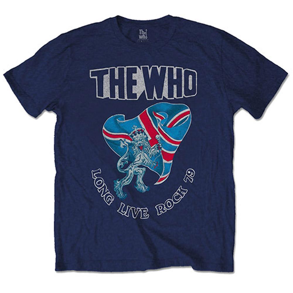 WHO ザ・フー - Long Live Rock '79 / バックプリントあり / Tシャツ / メンズ 【公式 / オフィシャル】
