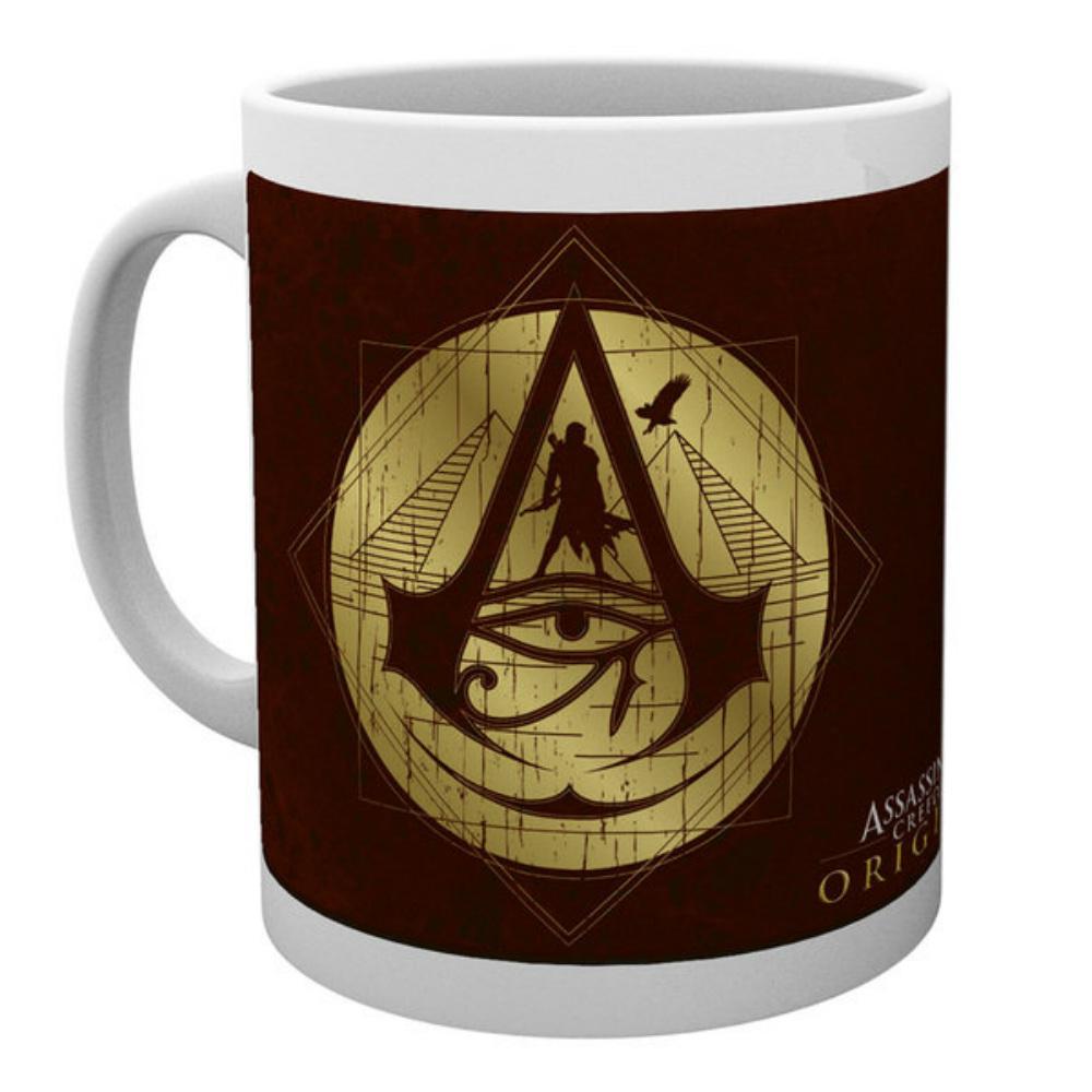 ASSASSINS CREED アサシンクリード (ヴァルハラ ) - ORIGINS Gold Icons / マグカップ 【公式 / オフィシャル】