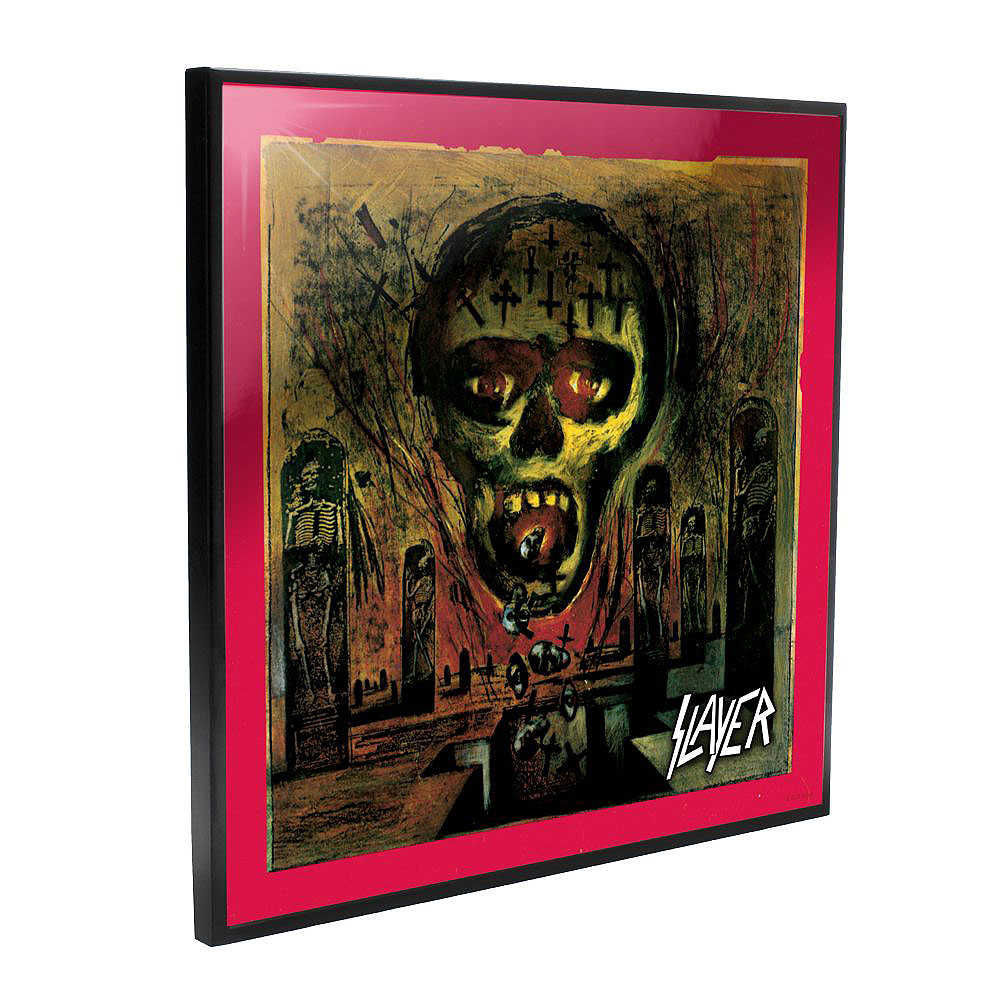SLAYER スレイヤー (結成40周年 ) - Seasons in the Abyss Crystal Clear Picture / 樹脂コート表面加工 / インテリア額 【公式 / オフィシャル】