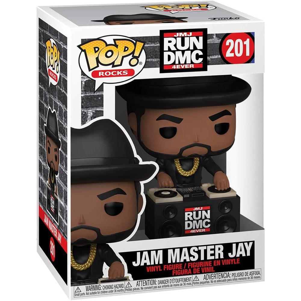 【予約商品】 RUN DMC ランディーエムシー (結成40周年 ) - POP Rocks:Jam Master Jay / フィギュア・人形 【公式 / オフィシャル】