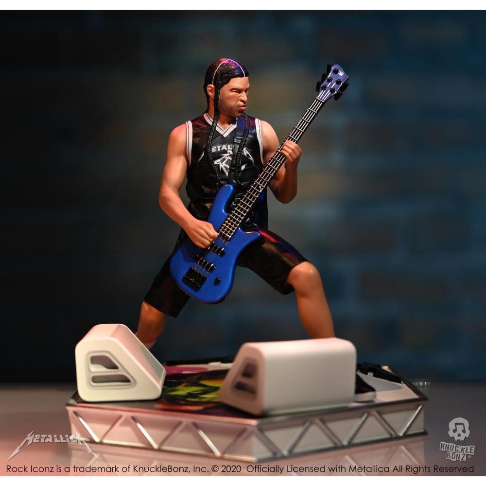 【予約商品】 【プレゼント付き】 METALLICA メタリカ (結成40周年 ) - Rock Iconz Statue Bundle (Set of 4) / 世界限定3000セット / フィギュア・人形 【公式 / オフィシャル】