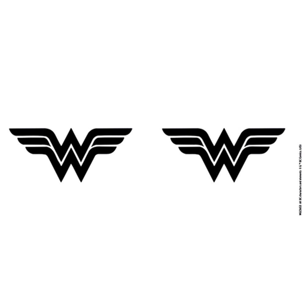WONDER WOMAN ワンダーウーマン (映画『Wonder Woman1984』 ) - Mono Logo / マグカップ 【公式 / オフィシャル】