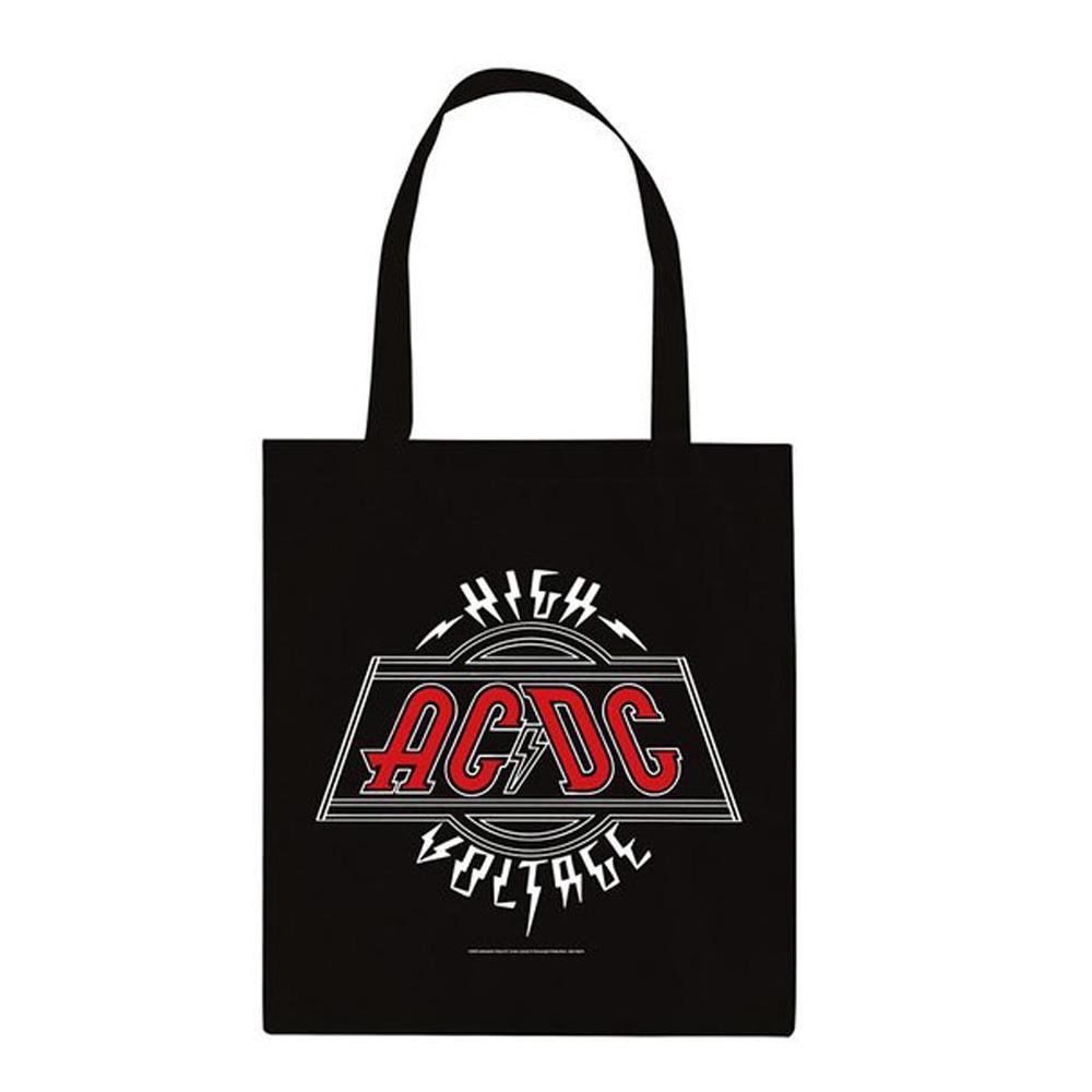 AC/DC エーシーディーシー (初来日40周年 ) - Voltage / トートバッグ 【公式 / オフィシャル】