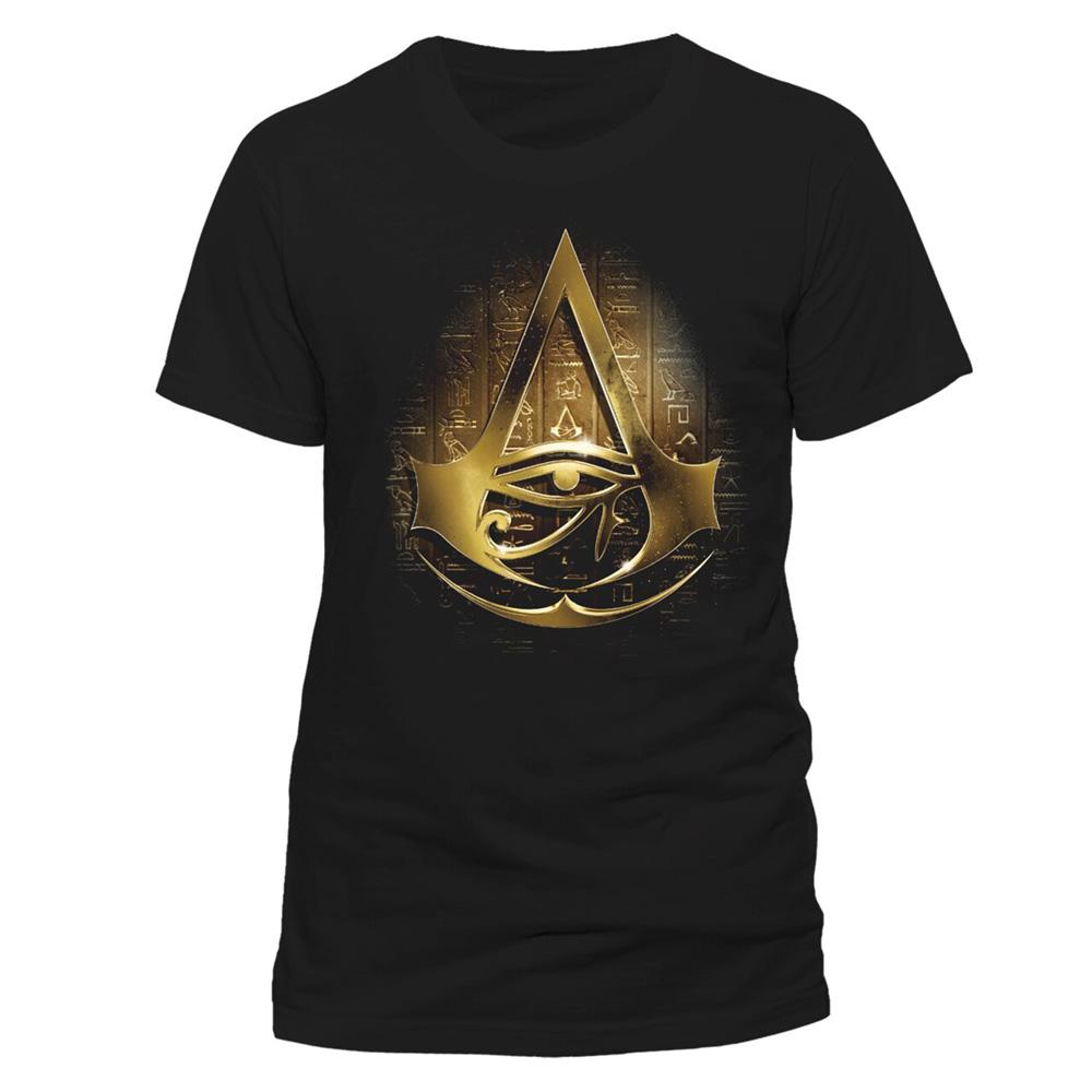 ASSASSINS CREED アサシンクリード - GOLD HIEROGLYPH / Tシャツ / メンズ 【公式 / オフィシャル】