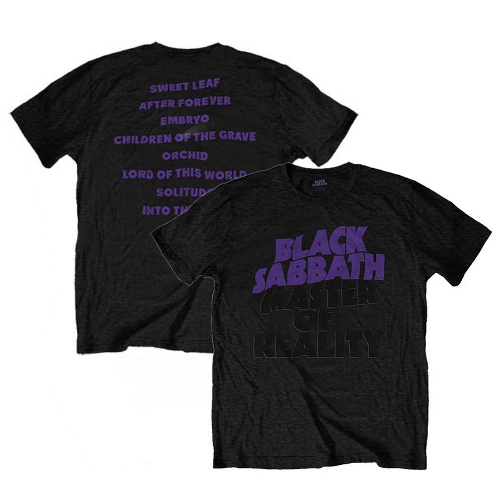 BLACK SABBATH ブラックサバス (デビュー50周年記念 ) - Masters of Reality Album / バックプリントあり / Tシャツ / メンズ 【公式 / オフィシャル】