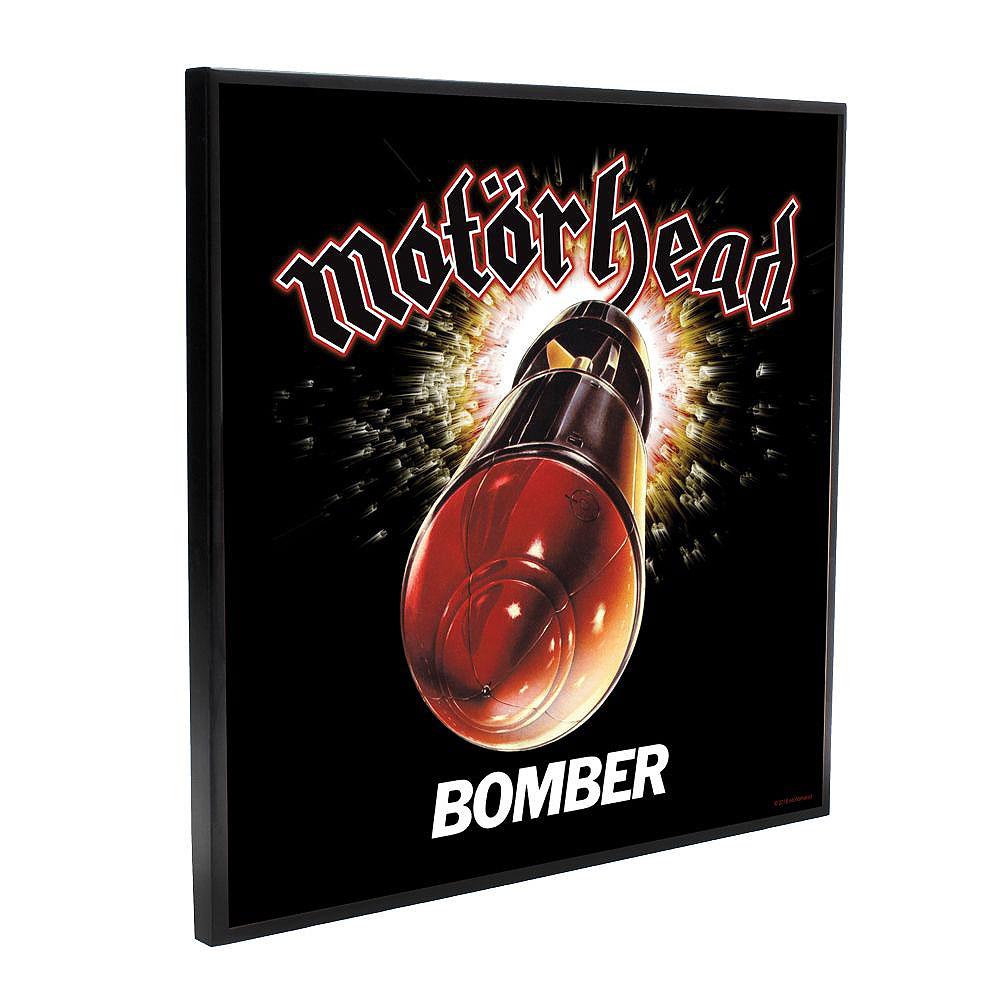 MOTORHEAD モーターヘッド (結成45周年記念 ) - Bomber Crystal Clear Picture / 樹脂コート表面加工 / インテリア額 【公式 / オフィシャル】