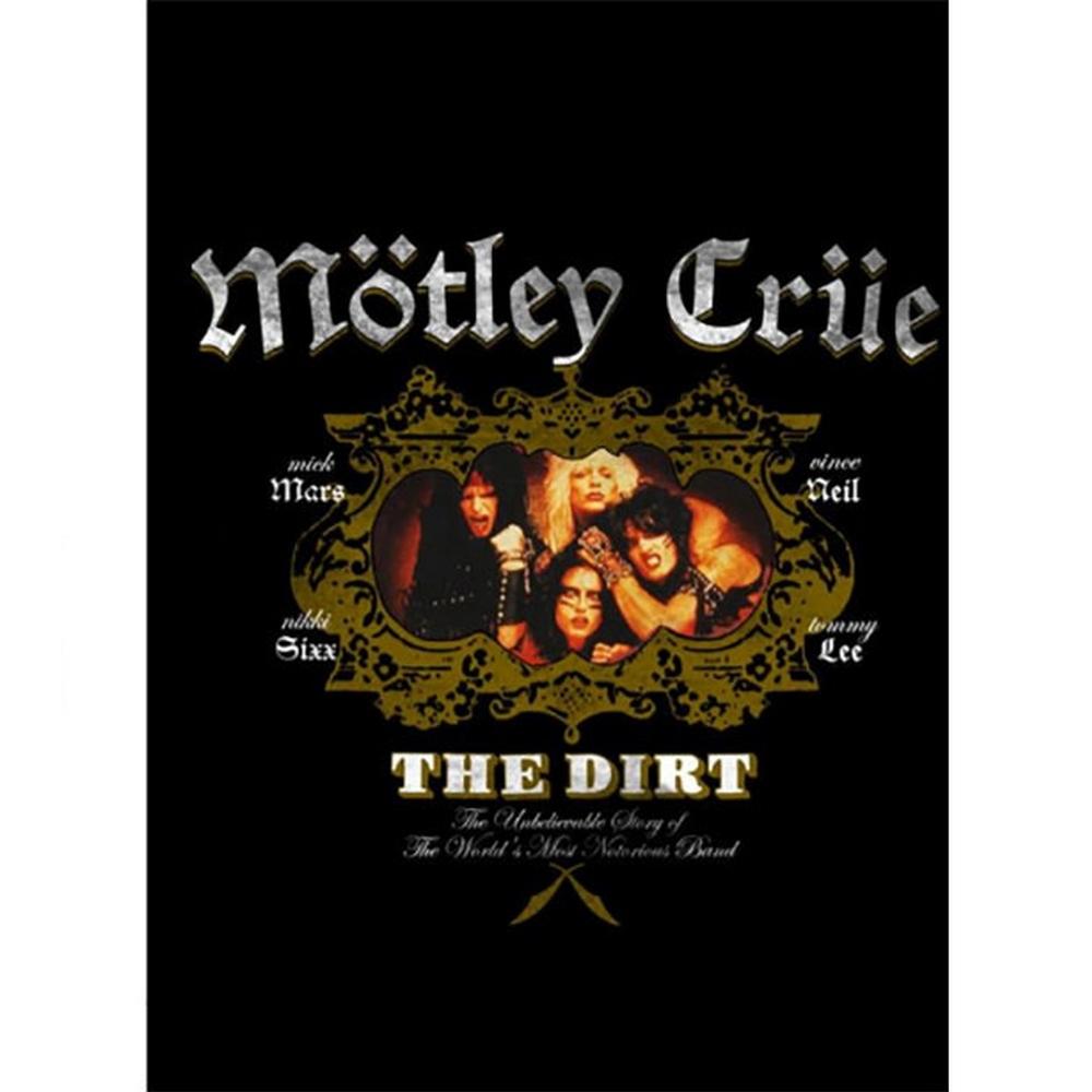 MOTLEY CRUE モトリークルー (結成40周年 ) - The Dirt / スウェット・パーカー / メンズ 【公式 / オフィシャル】
