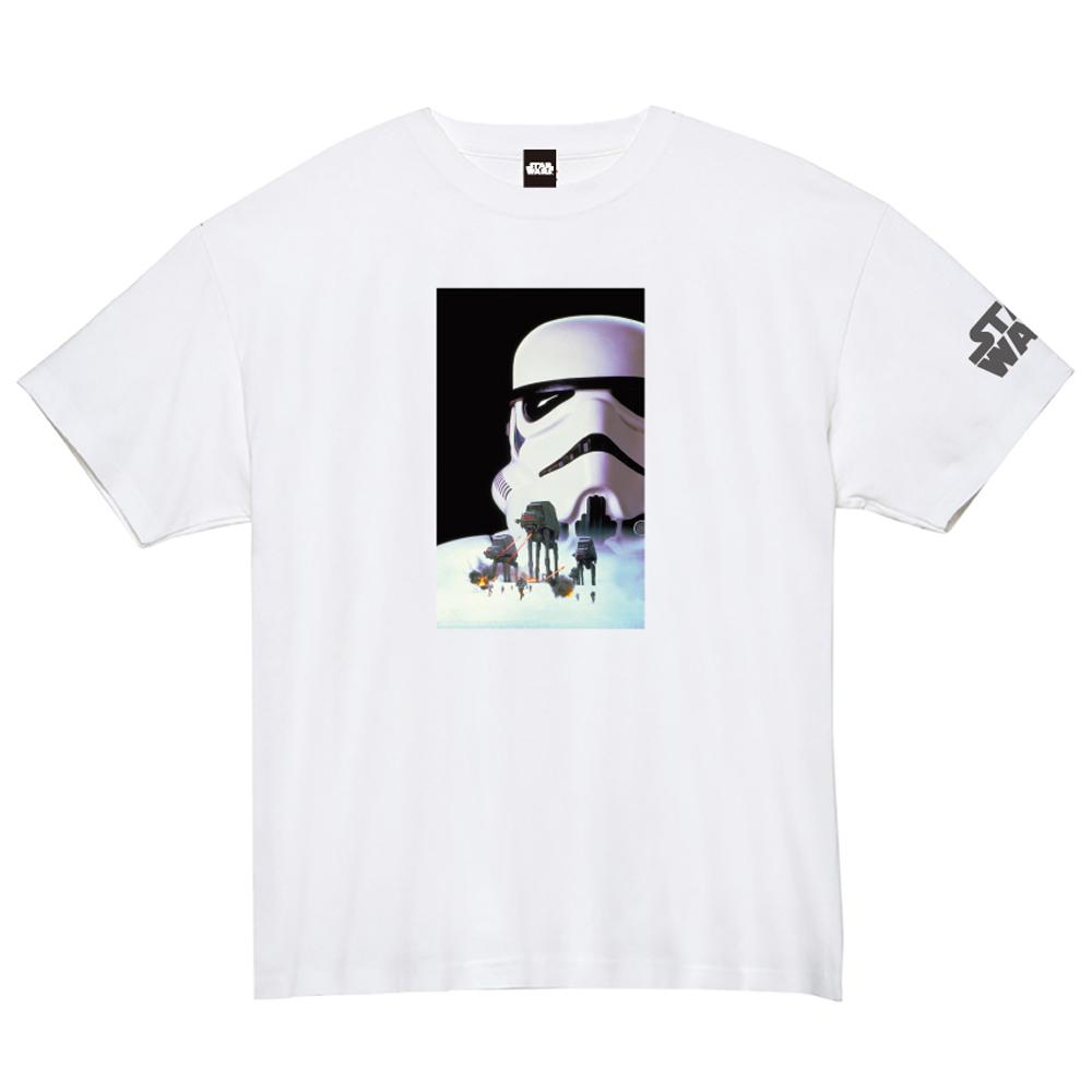 STAR WARS スターウォーズ - 蓄光ロゴTシャツ(ストームトルーパー) / ホワイト / 限定商品 / Tシャツ / メンズ 【公式 / オフィシャル】