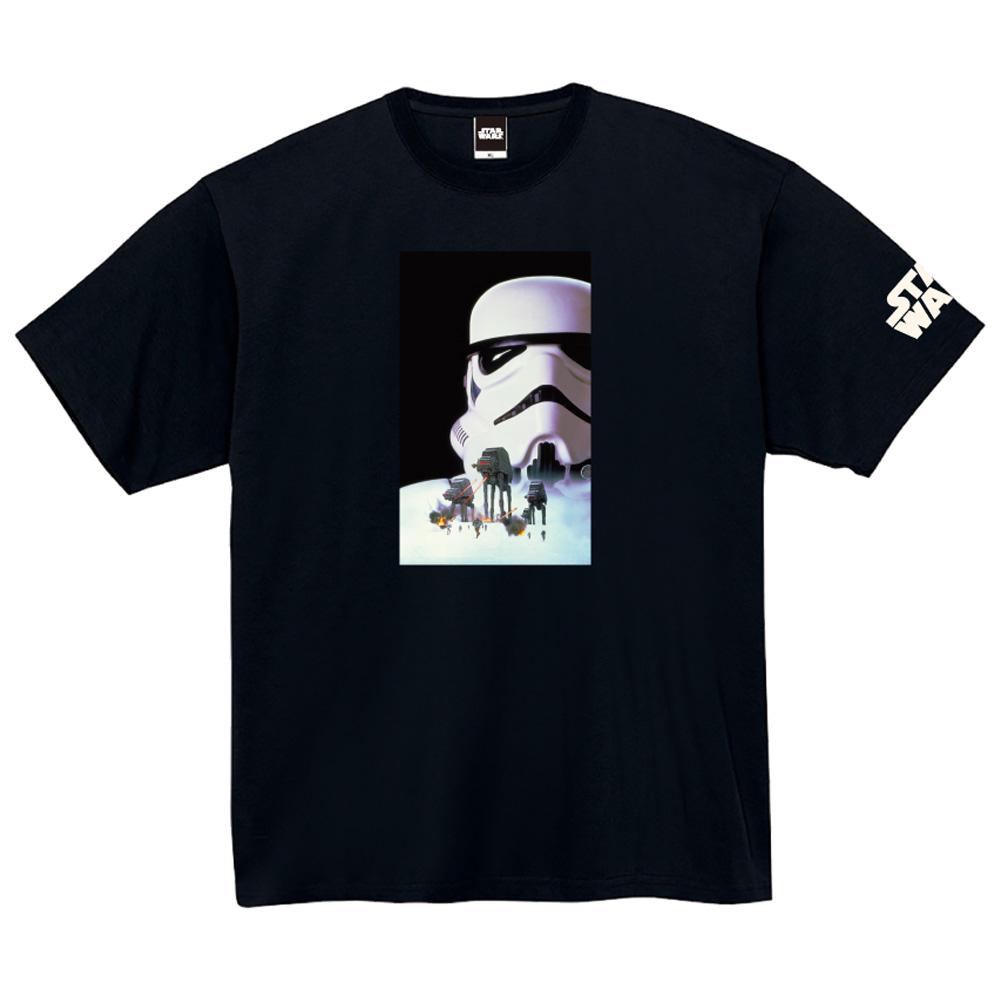 STAR WARS スターウォーズ - 蓄光ロゴTシャツ(ストームトルーパー) / ブラック / 限定商品 / Tシャツ / メンズ 【公式 / オフィシャル】