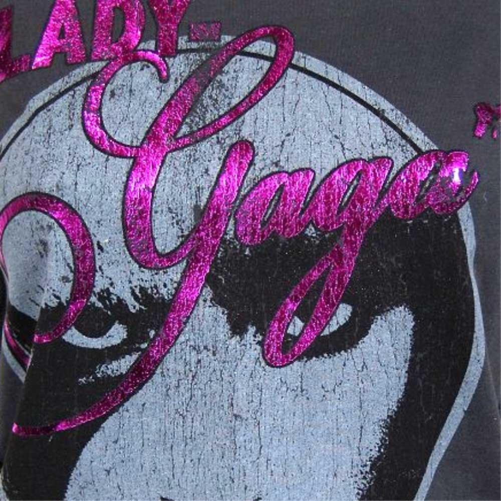 LADY GAGA レディーガガ (生誕35周年記念 ) - KEYHOLE Diamante / Amplified( ブランド ) / Tシャツ / レディース 【公式 / オフィシャル】