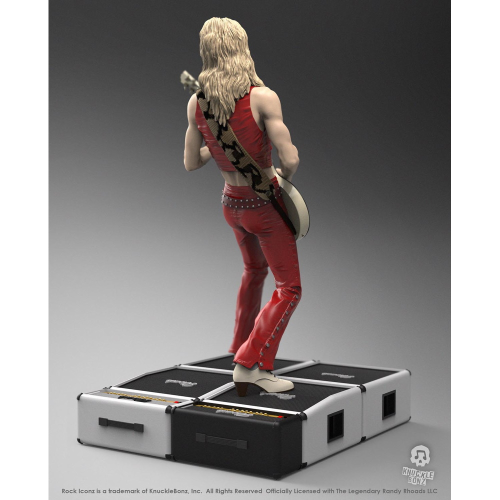 【予約商品】 【プレゼント付き】 OZZY OSBOURNE オジーオズボーン - Randy Rhoads III Rock Iconz Statue  / 生誕65周年記念 /世界限定3000体 / フィギュア・人形 【公式 / オフィシャル】