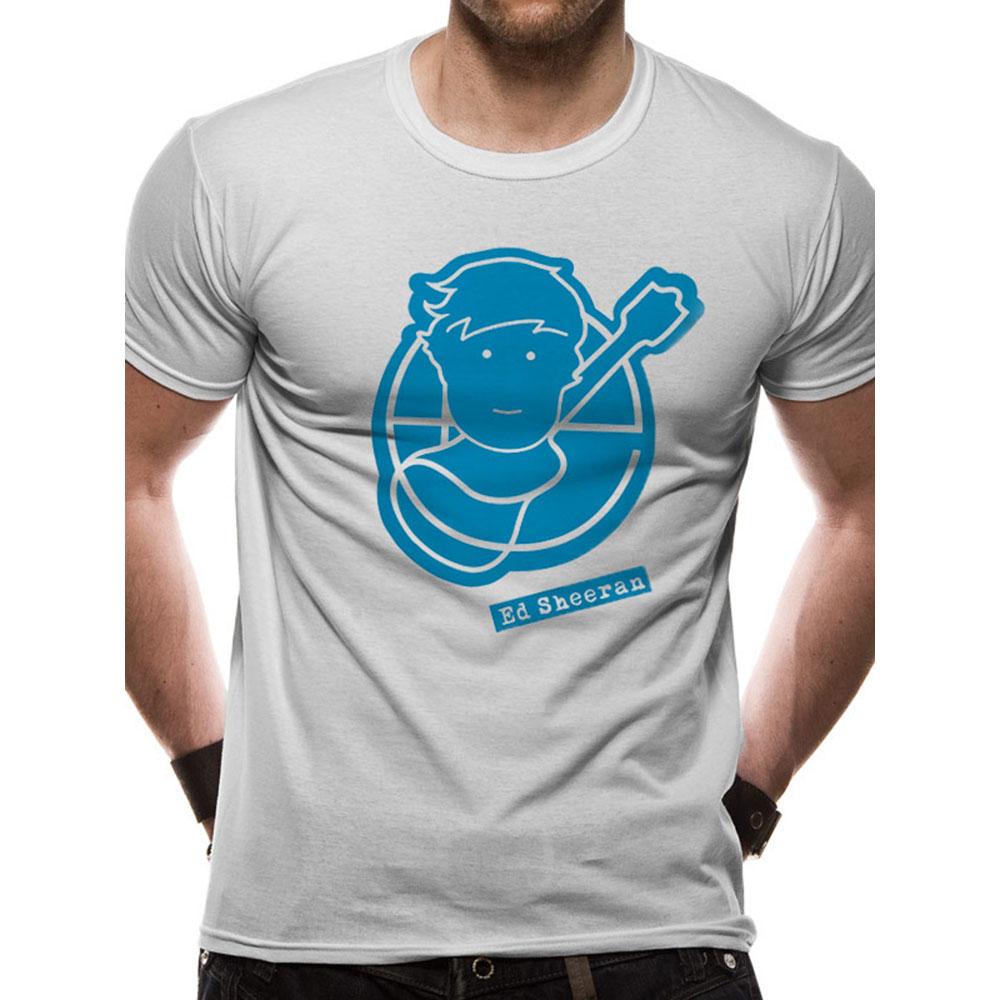 ED SHEERAN エドシーラン (デビュー10周年 ) - Pictogram Logo / Tシャツ / メンズ 【公式 / オフィシャル】