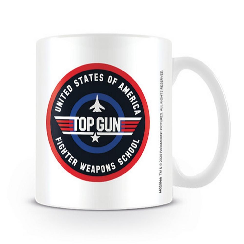 TOP GUN トップガン (日本初公開35周年 ) - Fighter Weapons School / マグカップ 【公式 / オフィシャル】