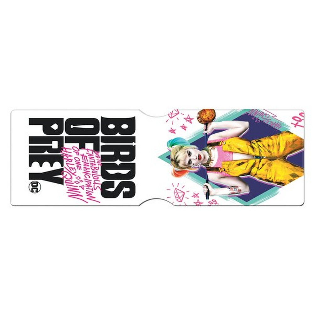 DC COMICS DCコミックス - BIRDS OF PREY / Harley Quinn / カードホルダー / 財布 【公式 / オフィシャル】