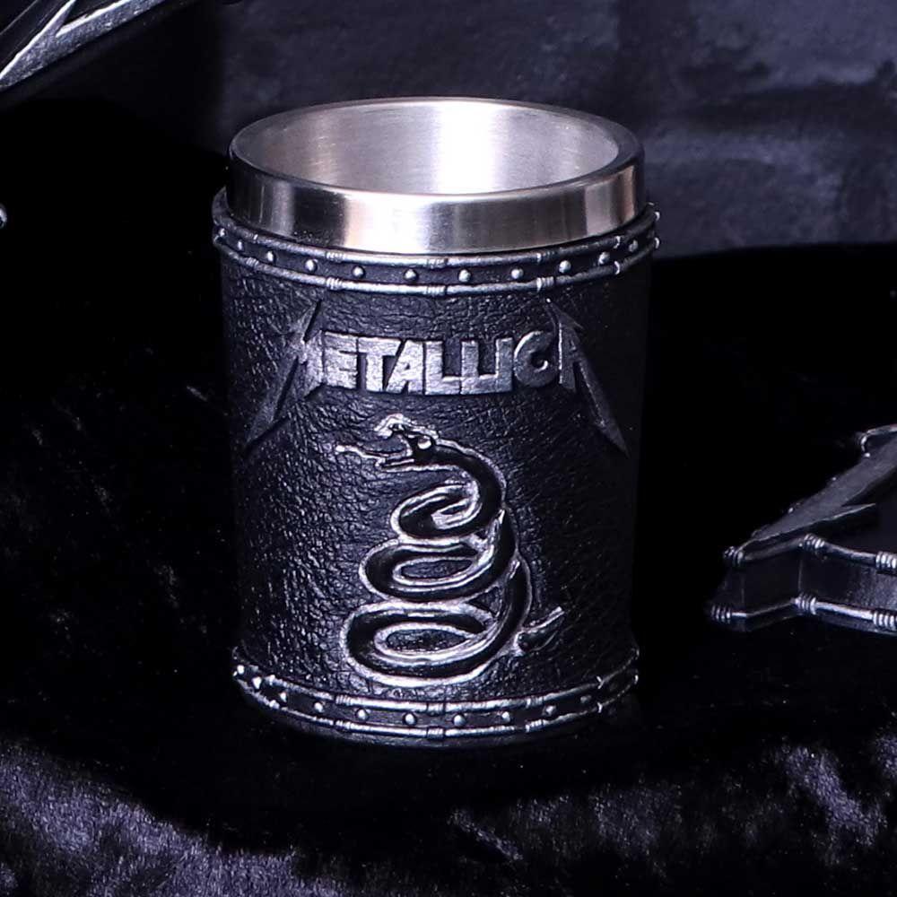 METALLICA メタリカ (結成40周年 ) - BLACK ALBUM / ショットグラス / 食器・グラス 【公式 / オフィシャル】