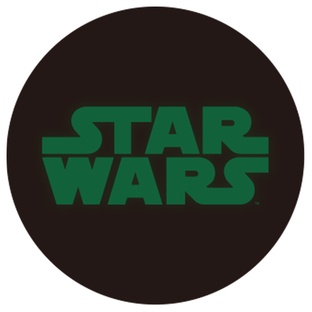 STAR WARS スターウォーズ - 蓄光ロゴロングスリーブTシャツ(ヨーダ) / ブラック / 長袖 / 限定商品 / Tシャツ / メンズ 【公式 / オフィシャル】