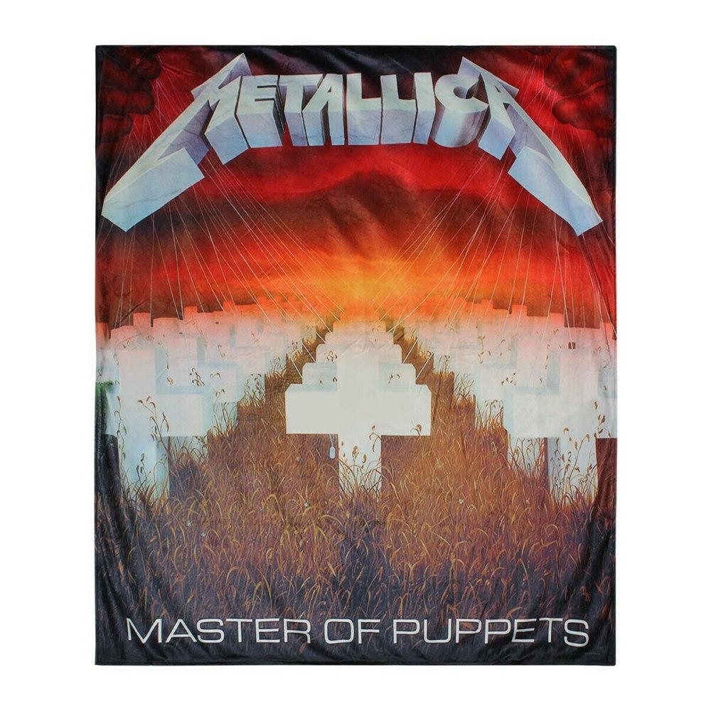 METALLICA メタリカ (結成40周年 ) - Master of Puppets / ブランケット / 寝具 【公式 / オフィシャル】
