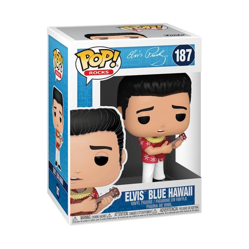 ELVIS PRESLEY エルヴィスプレスリー (RCAデビュー65周年記念 ) - Elvis Blue Hawaii / フィギュア・人形 【公式 / オフィシャル】