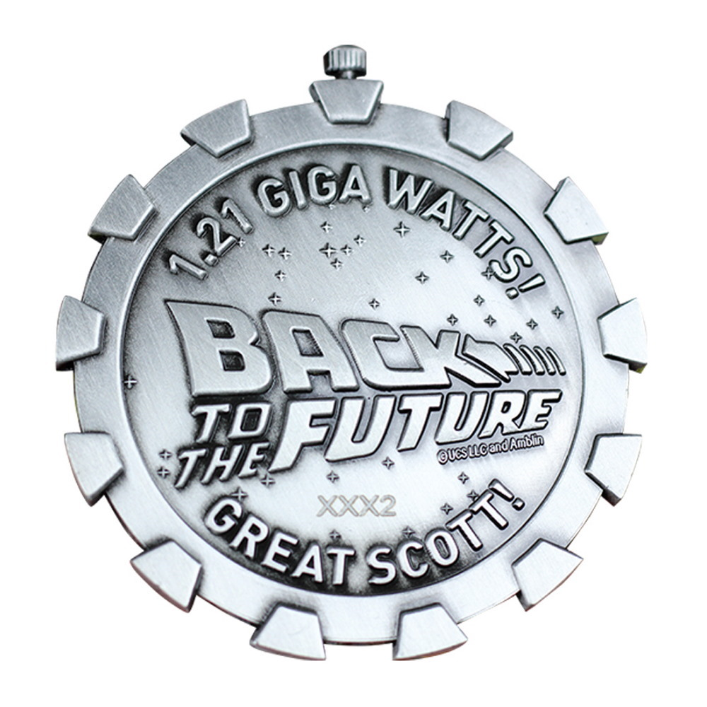 BACK TO THE FUTURE バックトゥザフューチャー (マイケルJフォックス生誕60周年 ) - Limited Edition Medallion / 世界限定5000 / コイン 【公式 / オフィシャル】