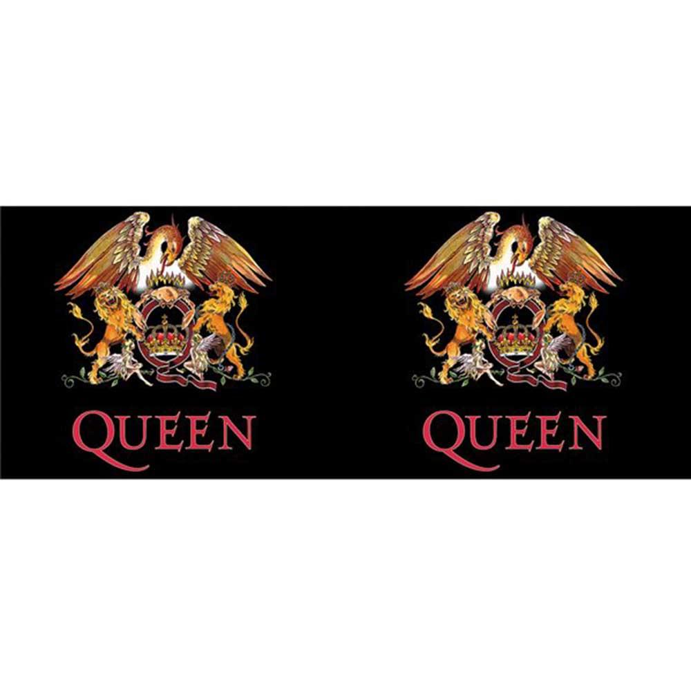 QUEEN クイーン (結成50周年記念 ) - Colour Crest / マグカップ 【公式 / オフィシャル】
