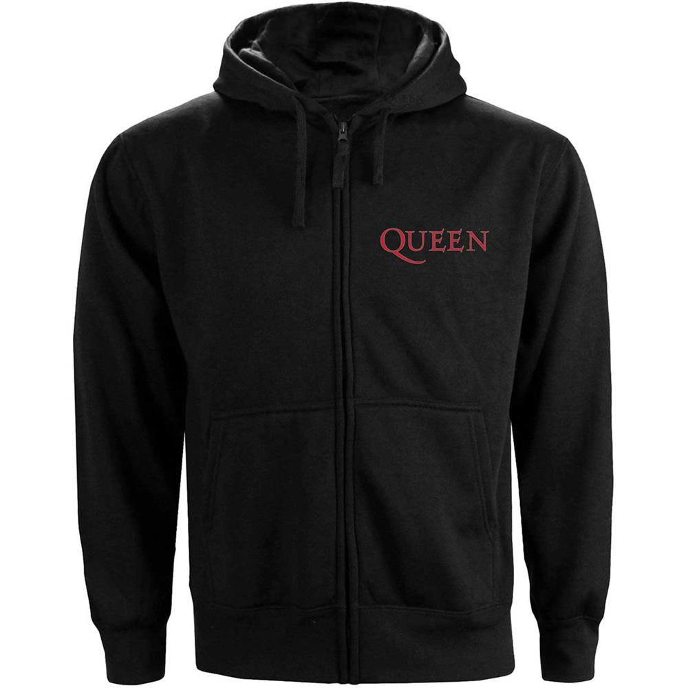 QUEEN クイーン (フレディ追悼30周年 ) - Classic Crest / ジップ / スウェット・パーカー / メンズ 【公式 / オフィシャル】