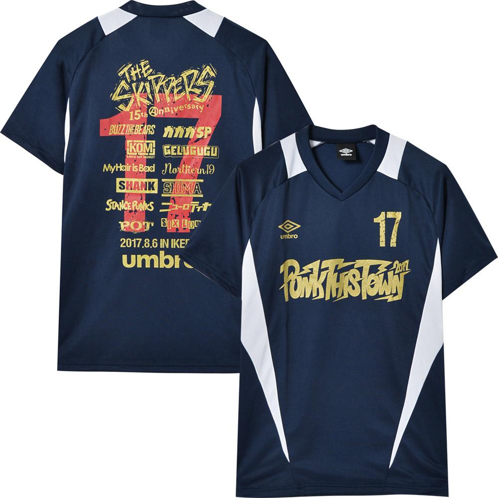 PUNK THIS TOWN パンクディスタウン - 2017 ドライTシャツ / バックプリントあり / umbro(ブランド) / Tシャツ / メンズ 【公式 / オフィシャル】