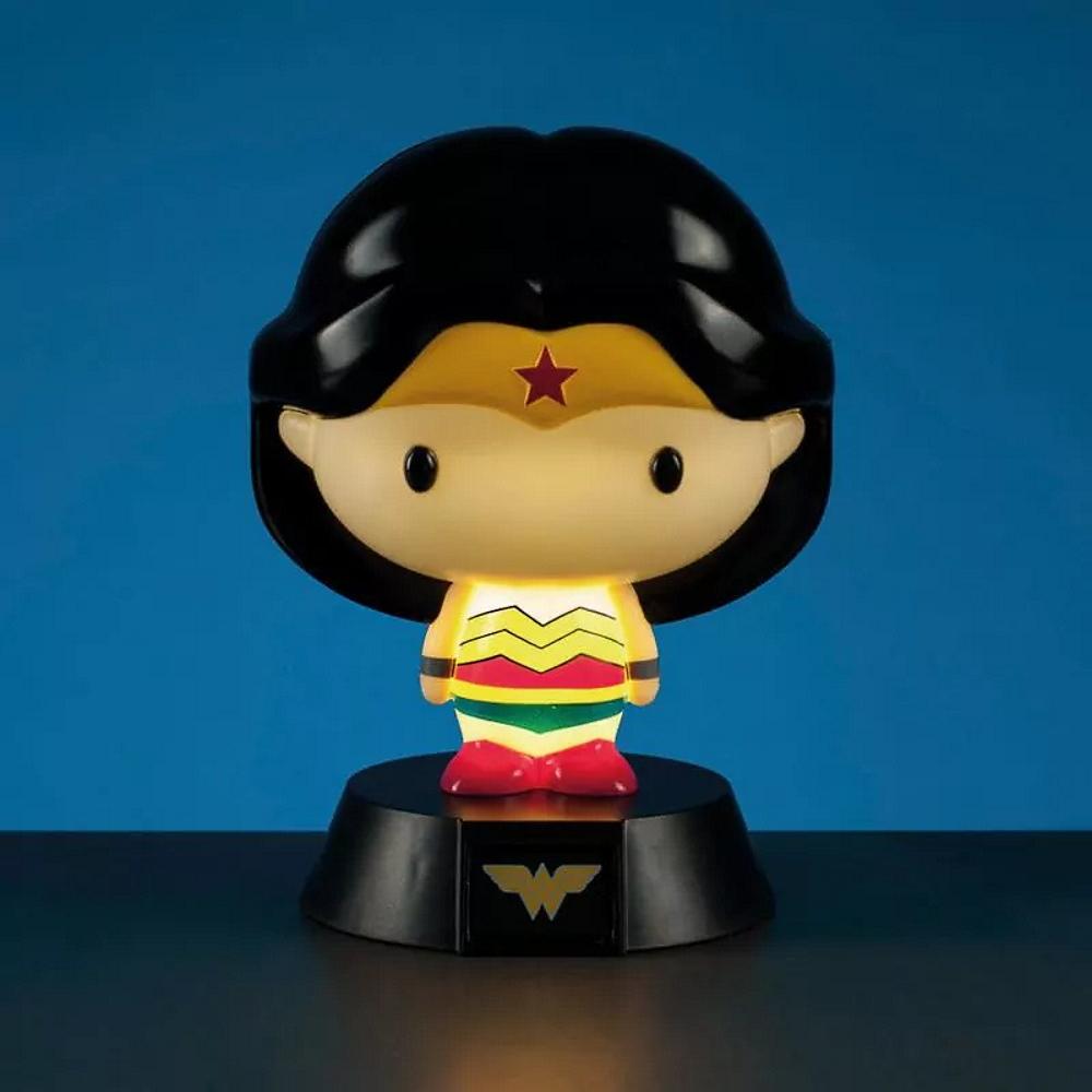 DC COMICS DCコミックス - Wonder Woman 3D Character Light / インテリア置物 【公式 / オフィシャル】