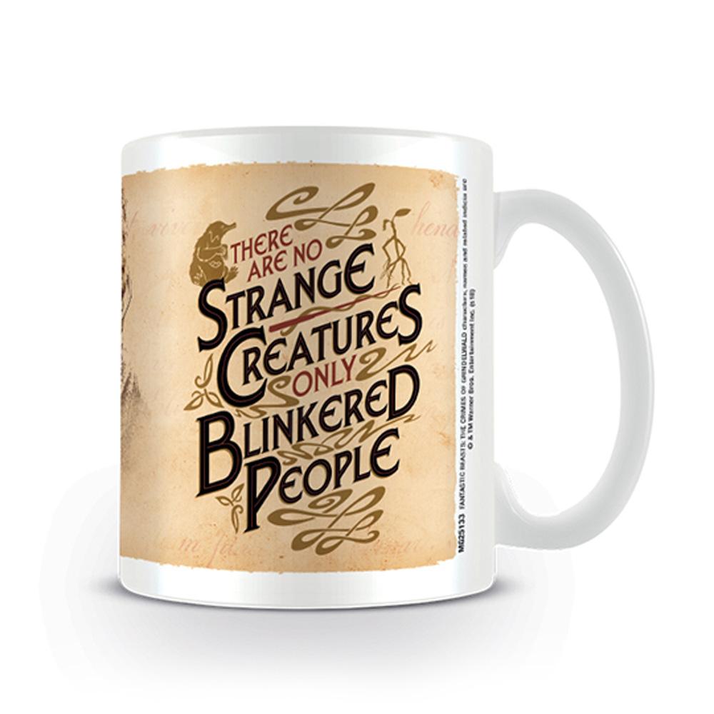 FANTASTIC BEASTS ハリーポッター (映画公開20周年 ) - Strange Creatures / マグカップ 【公式 / オフィシャル】
