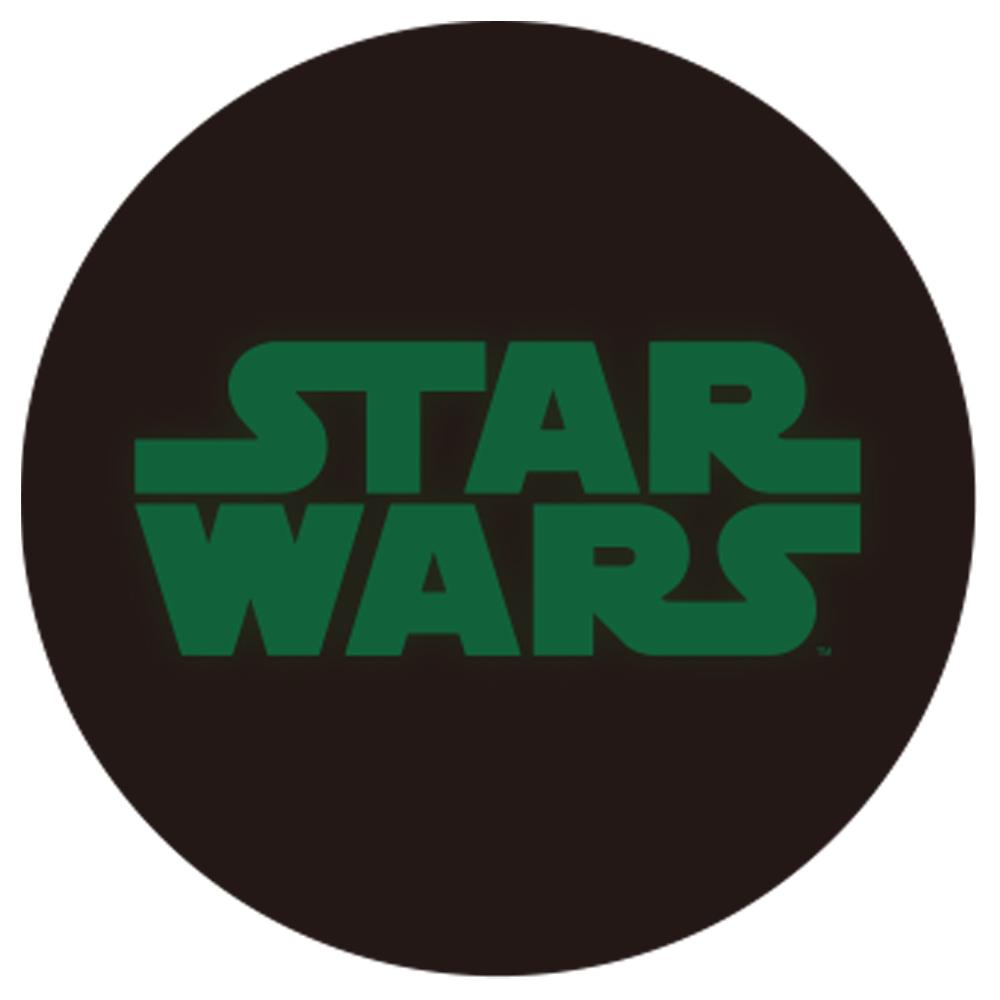 STAR WARS スターウォーズ - 蓄光ロゴロングスリーブTシャツ(ストームトルーパー) / ブラック / 長袖 / 限定商品 / Tシャツ / メンズ 【公式 / オフィシャル】