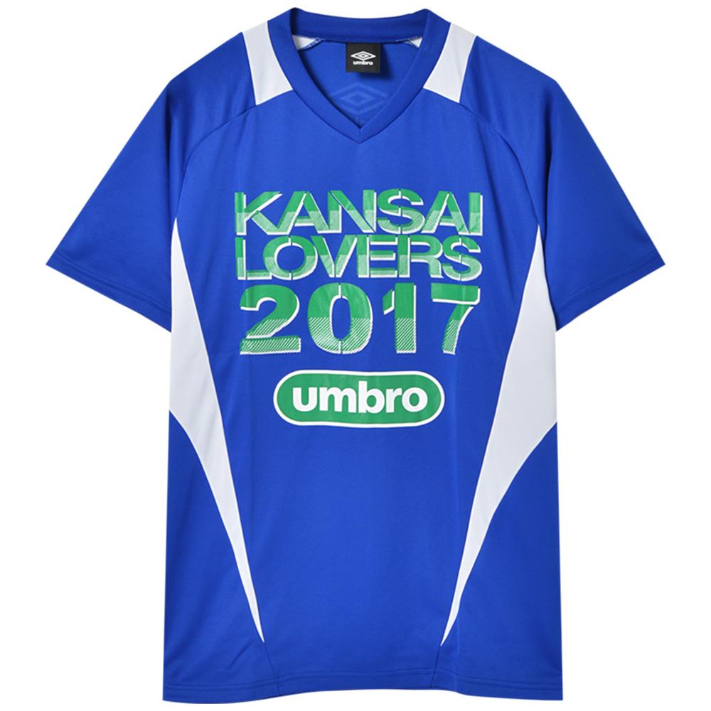 KANSAI LOVERS カンラバ - 2017 ドライTシャツ / バックプリントあり / umbro(ブランド) / Tシャツ / メンズ 【公式 / オフィシャル】
