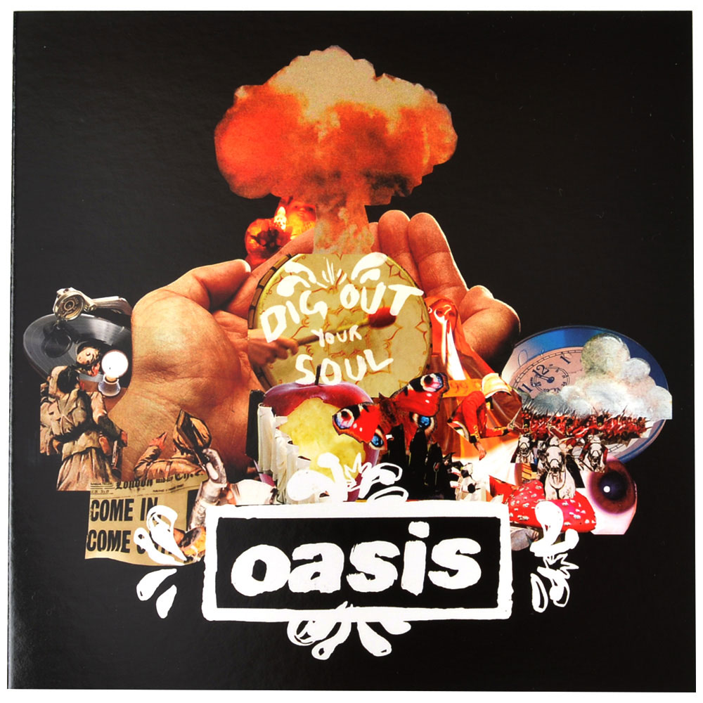 OASIS オアシス (映画『KNEBWORTH1996』公開決定 ) - Dig Out Your Soul/ 封筒付Greetings Card / ポストカード・レター 【公式 / オフィシャル】