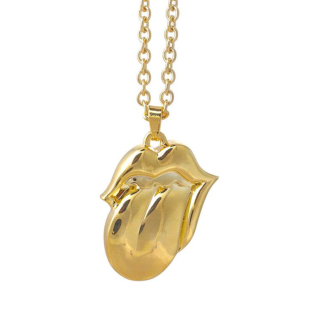 ROLLING STONES ローリングストーンズ (映画『GIMME SHELTER』公開50周年 ) - Gold Tongue Necklace / ネックレス 【公式 / オフィシャル】
