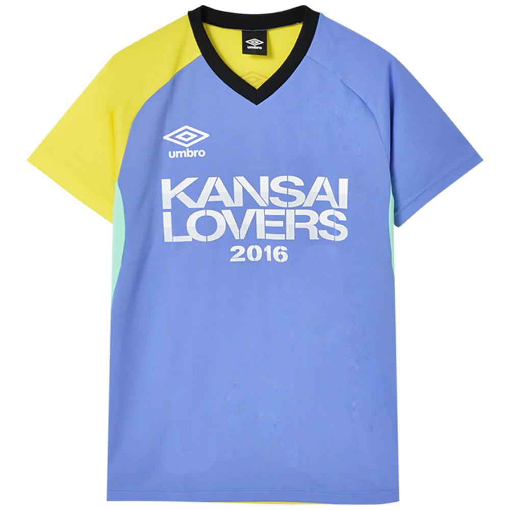 KANSAI LOVERS カンラバ - 2016 ドライTシャツ / バックプリントあり / umbro(ブランド) / Tシャツ / メンズ 【公式 / オフィシャル】