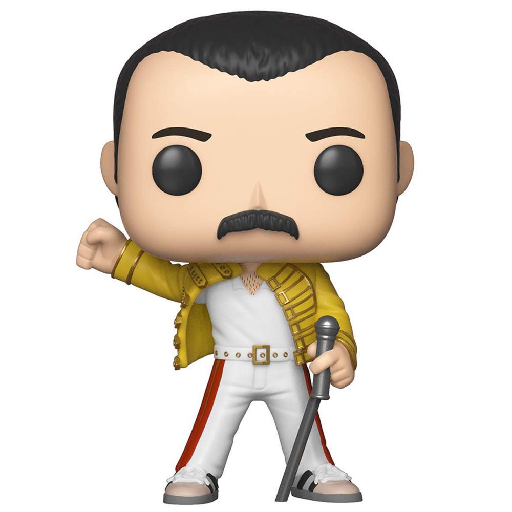 QUEEN クイーン (結成50周年 ) - POP! ROCKS : Freddie Mercury(Wembley 1986) / フィギュア・人形 【公式 / オフィシャル】