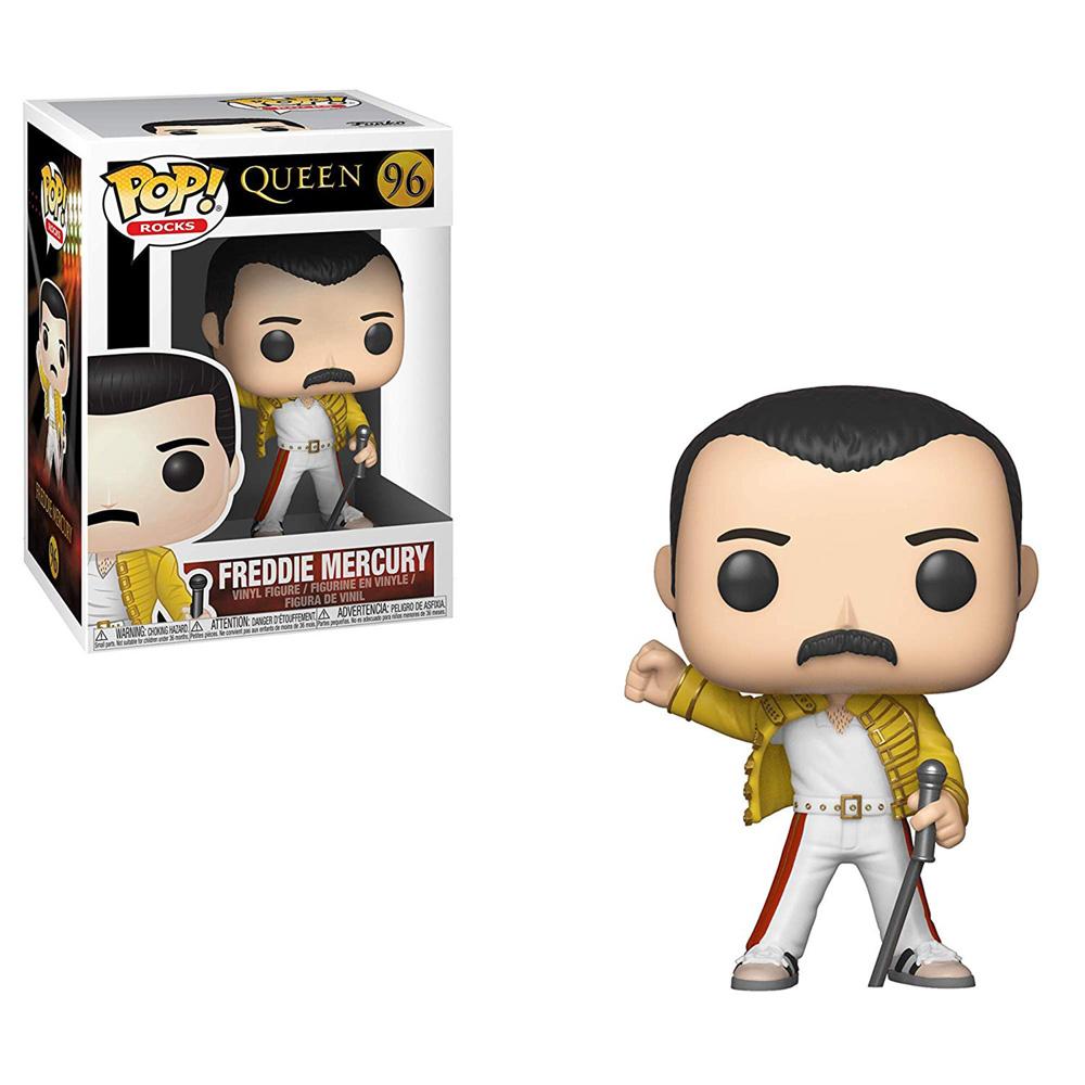 QUEEN クイーン (フレディ追悼30周年 ) - POP! ROCKS : Freddie Mercury(Wembley 1986) / フィギュア・人形 【公式 / オフィシャル】