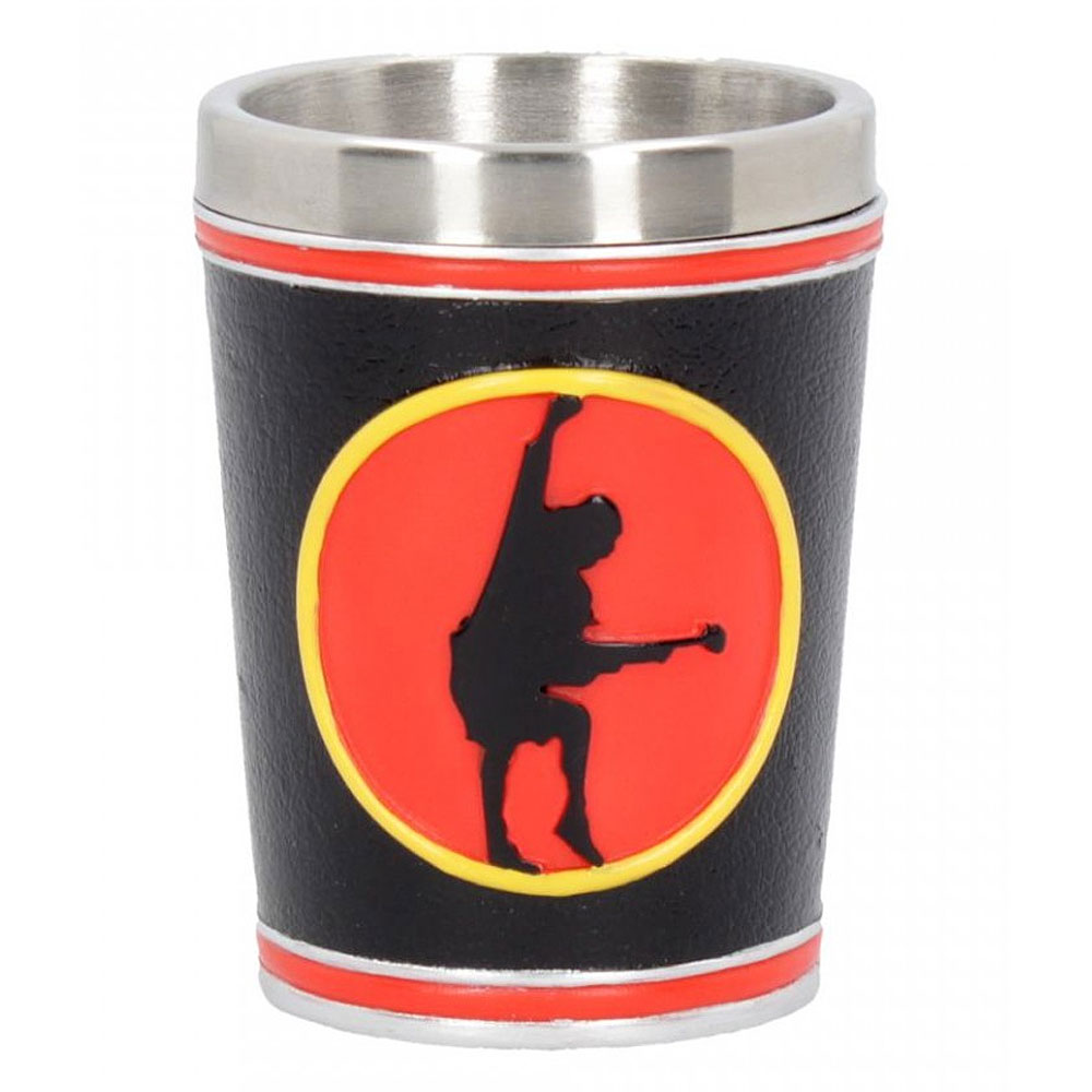 AC/DC エーシーディーシー (初来日40周年 ) - Shot Glass / ステンレス製 / 食器・グラス 【公式 / オフィシャル】
