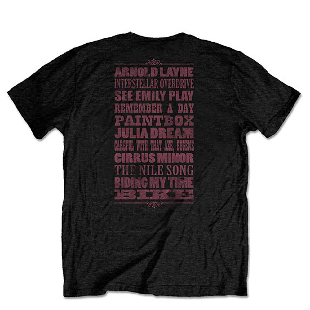 PINK FLOYD ピンクフロイド (Live at Knebworth発売記念 ) - Relics / バックプリントあり / Tシャツ / メンズ 【公式 / オフィシャル】